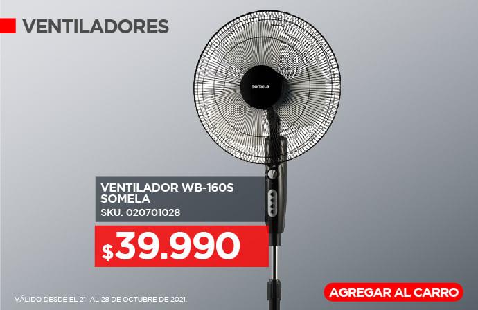 Ventilador WB-160S Somela