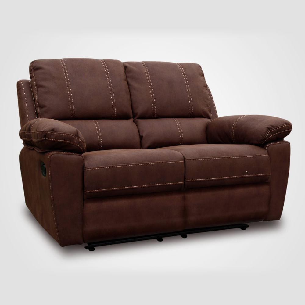 Sofa reclinable 2 cuerpos for Sofa rosen mira 3 cuerpos